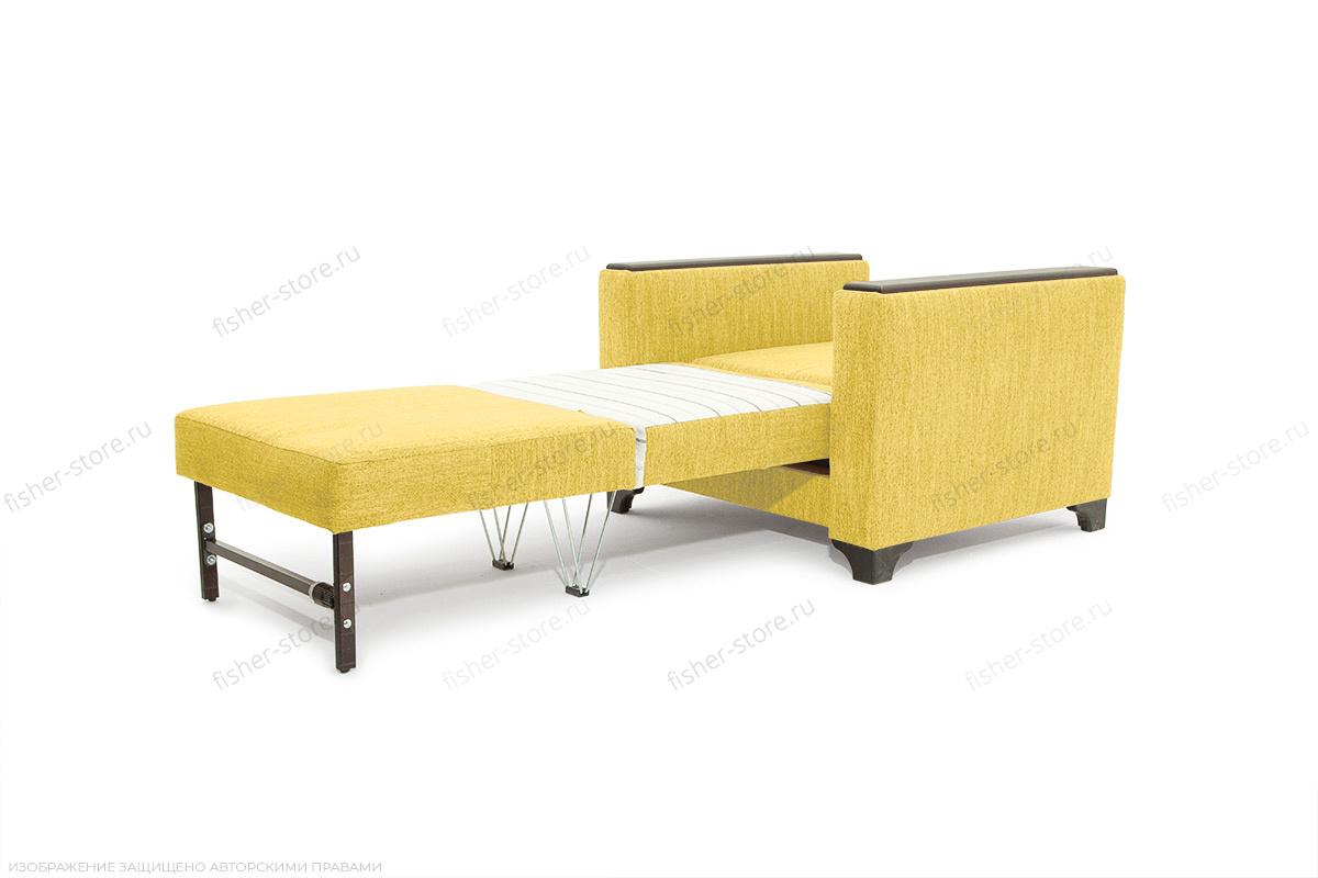 Кресло кровать Этро-2 с опорой №1 Orion Mustard Спальное место