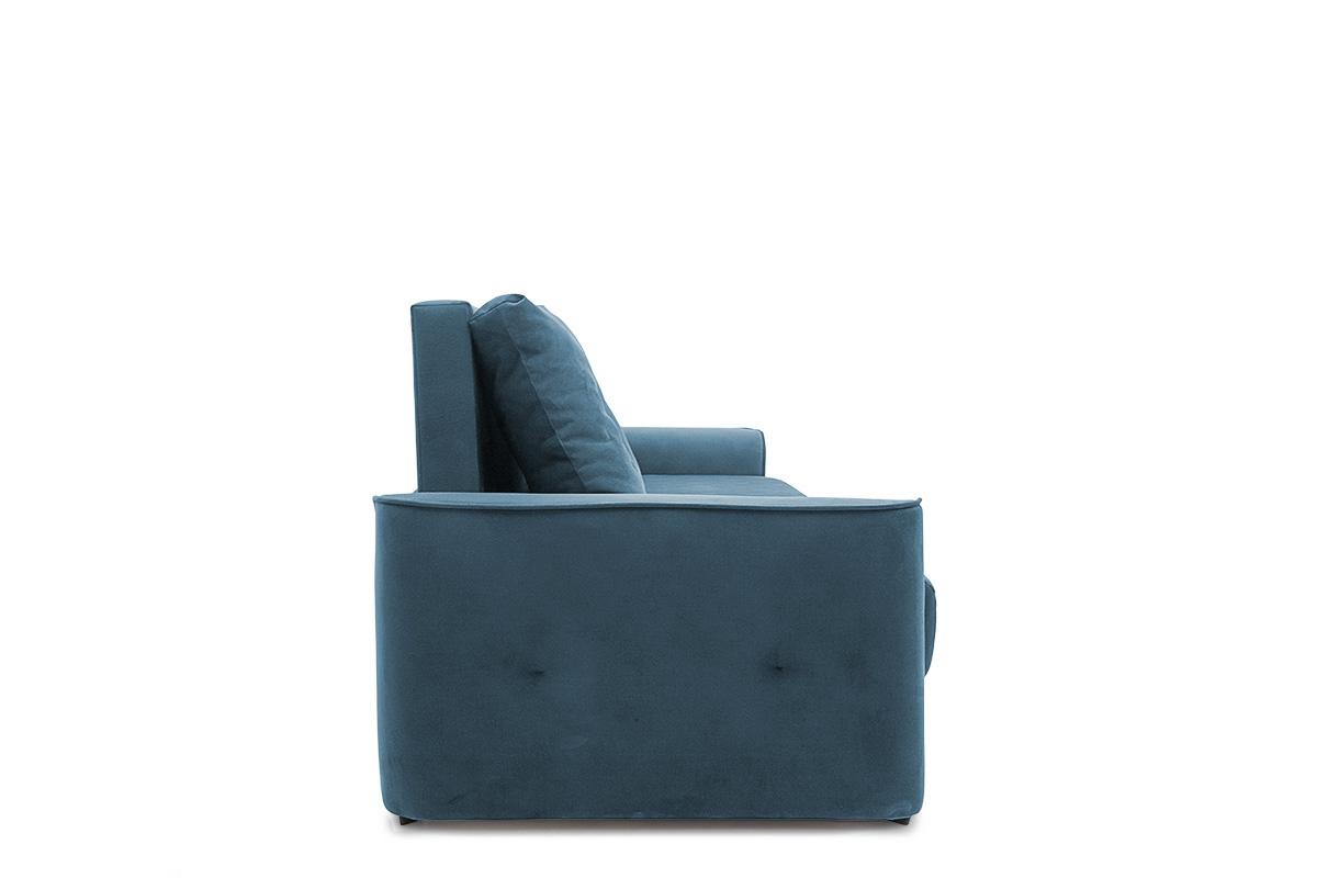 Прямой диван еврокнижка Фьюжн Maserati  Blue Вид сбоку