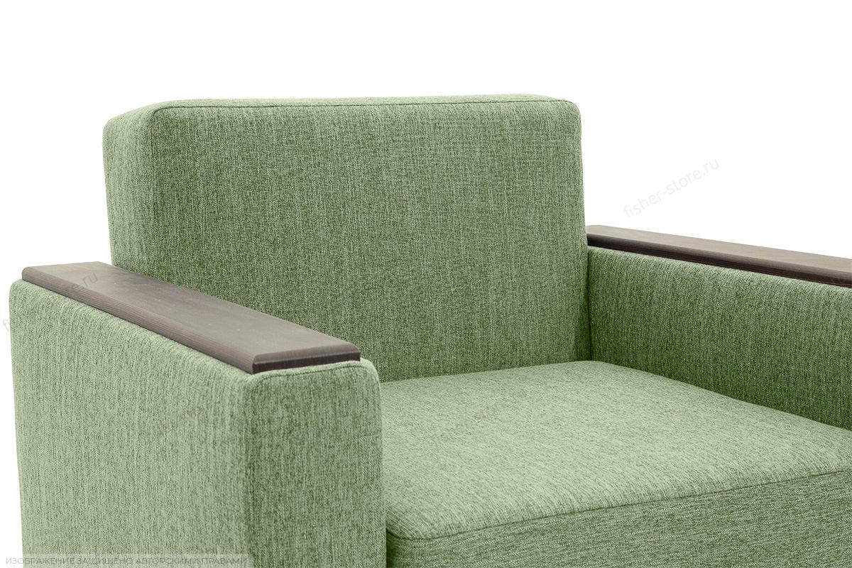 Кресло Этро-2 с опорой №1 Orion Green Подлокотник
