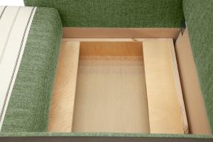 Кресло Этро-2 с опорой №1 Orion Green Ящик для белья