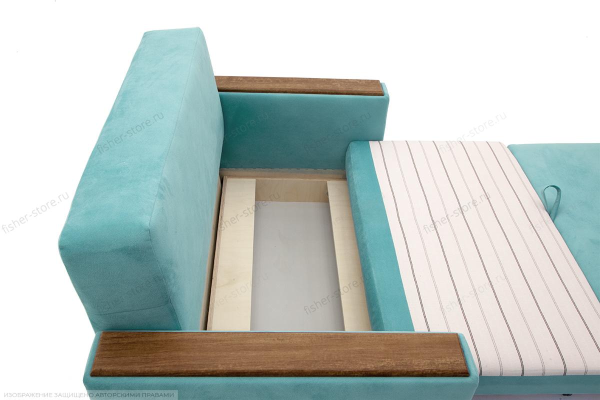 Прямой диван Этро-2 Maserati Light Blue Ящик для белья