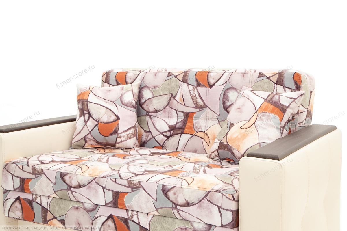 Прямой диван Этро люкс Fleur Mocca + Sontex Beight Подушки