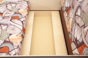 Прямой диван Этро люкс Fleur Mocca + Sontex Beight Ящик для белья