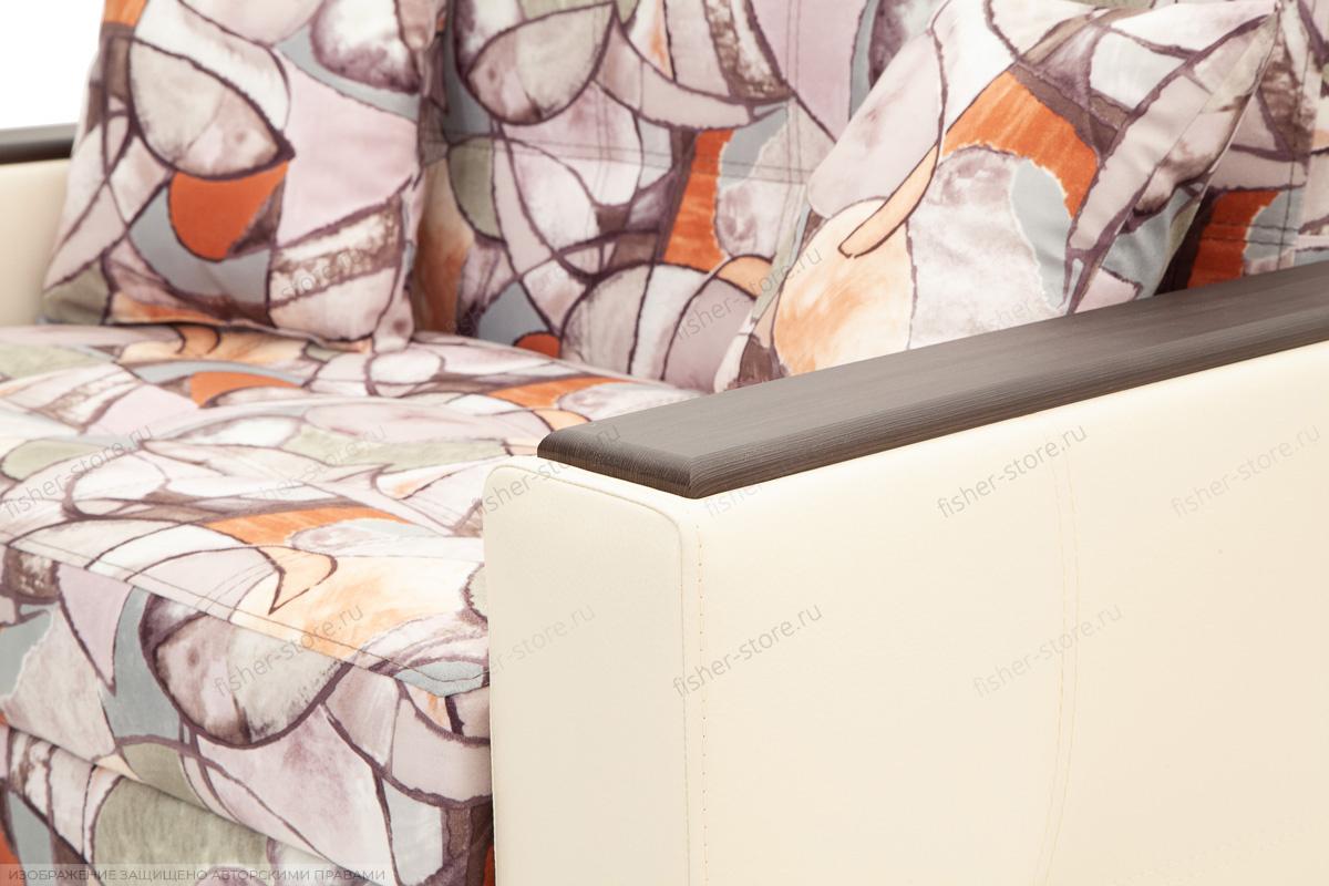 Прямой диван Этро люкс Fleur Mocca + Sontex Beight Подлокотник