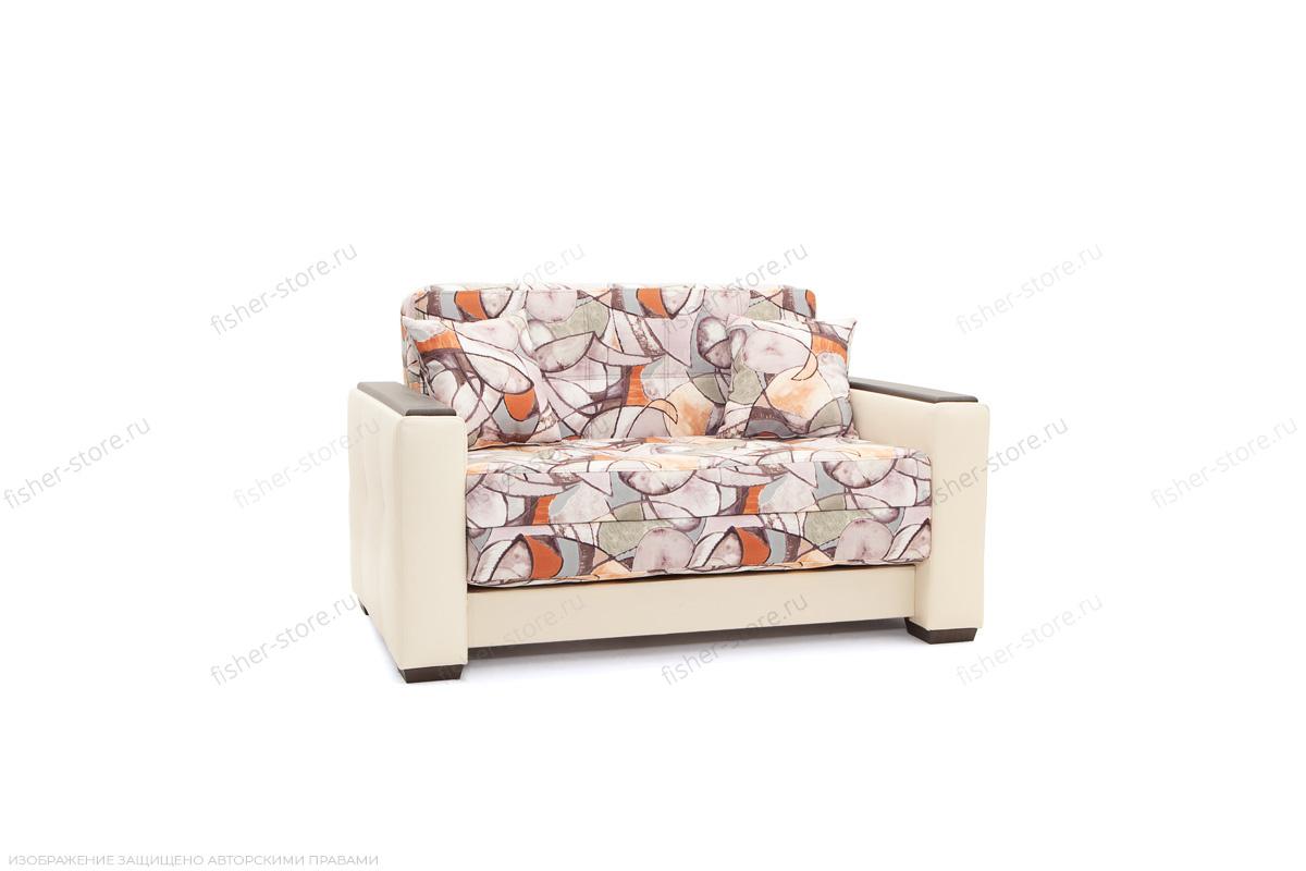 Прямой диван Этро люкс Fleur Mocca + Sontex Beight Вид по диагонали