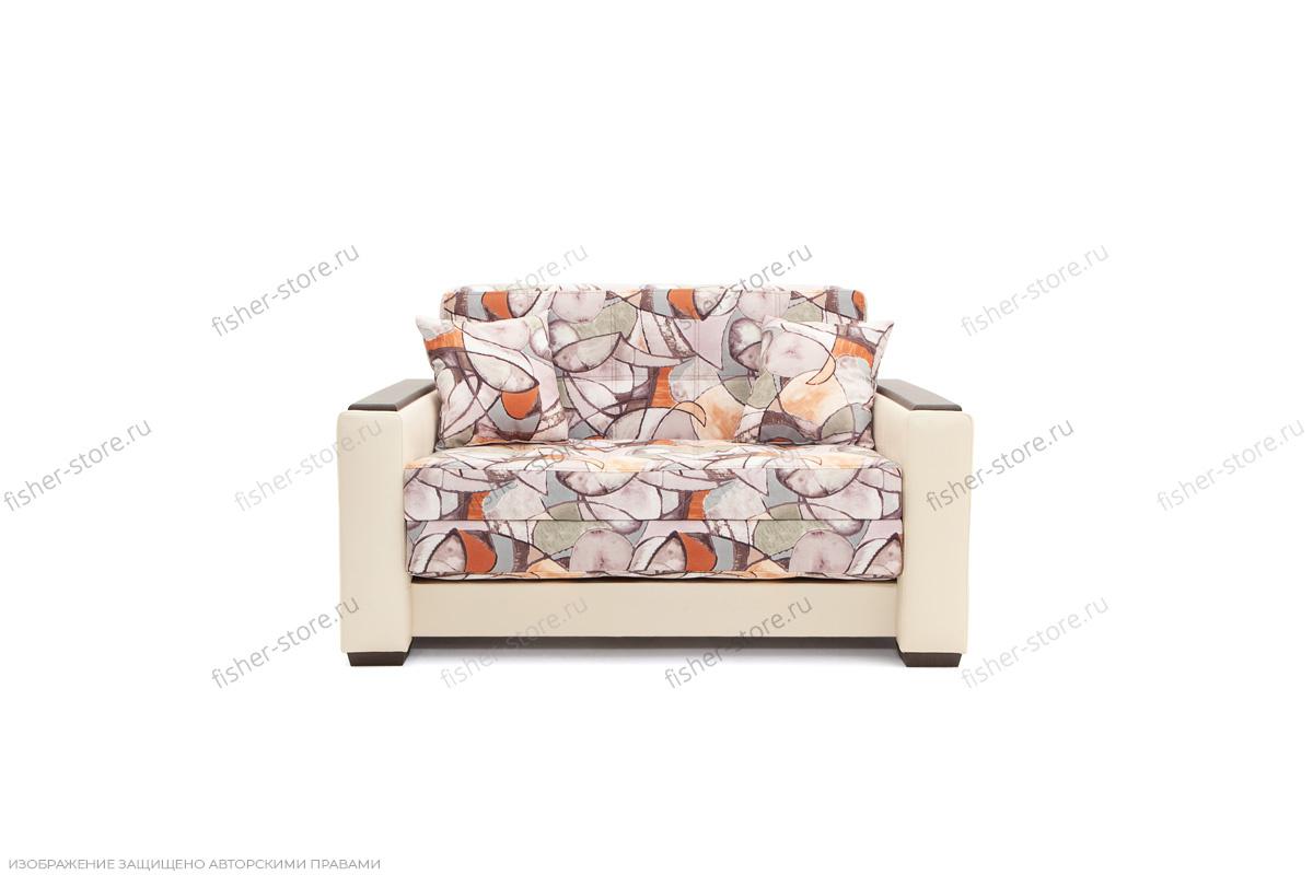 Прямой диван Этро люкс Fleur Mocca + Sontex Beight Вид спереди