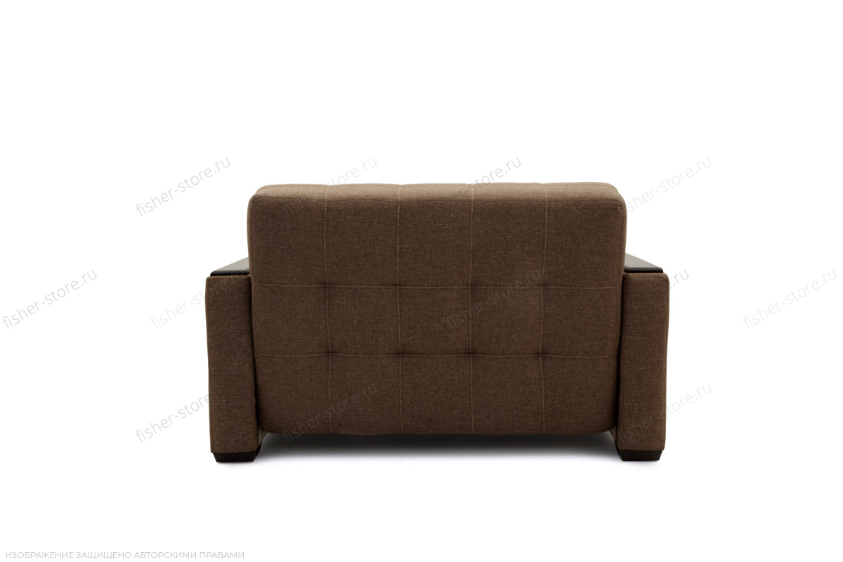 Прямой диван Этро люкс Dream Brown Вид сзади