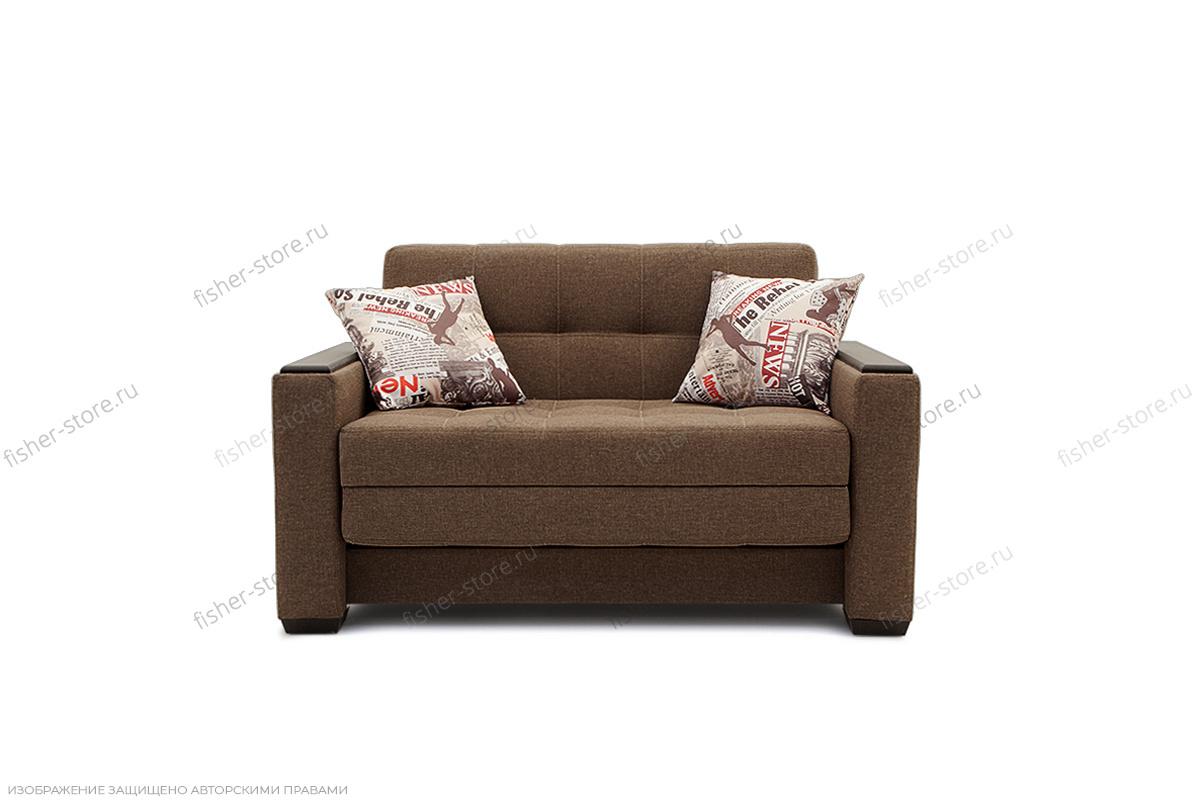 Прямой диван Этро люкс Dream Brown Вид спереди