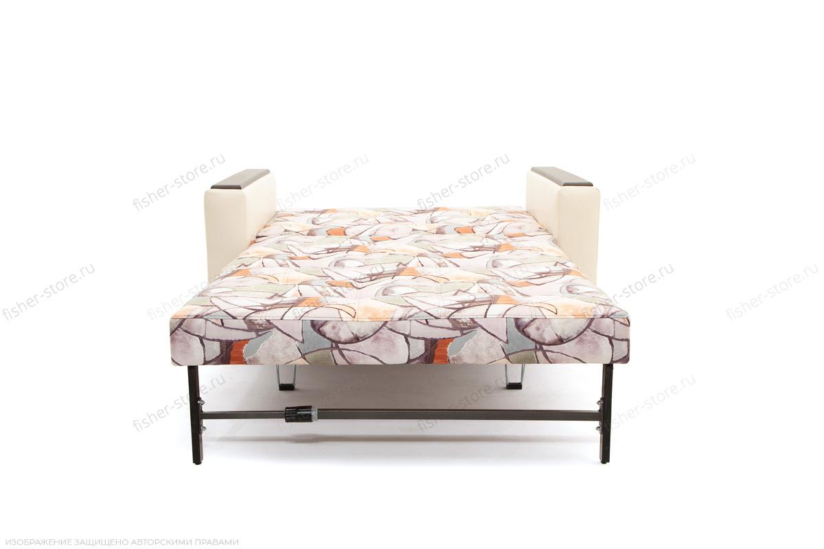Прямой диван Этро люкс Fleur Mocca + Sontex Beight Спальное место