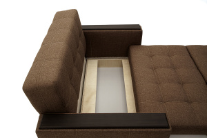 Прямой диван Этро люкс Dream Brown Ящик для белья