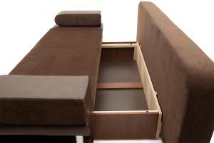 Прямой диван Сатурн Ящик для белья