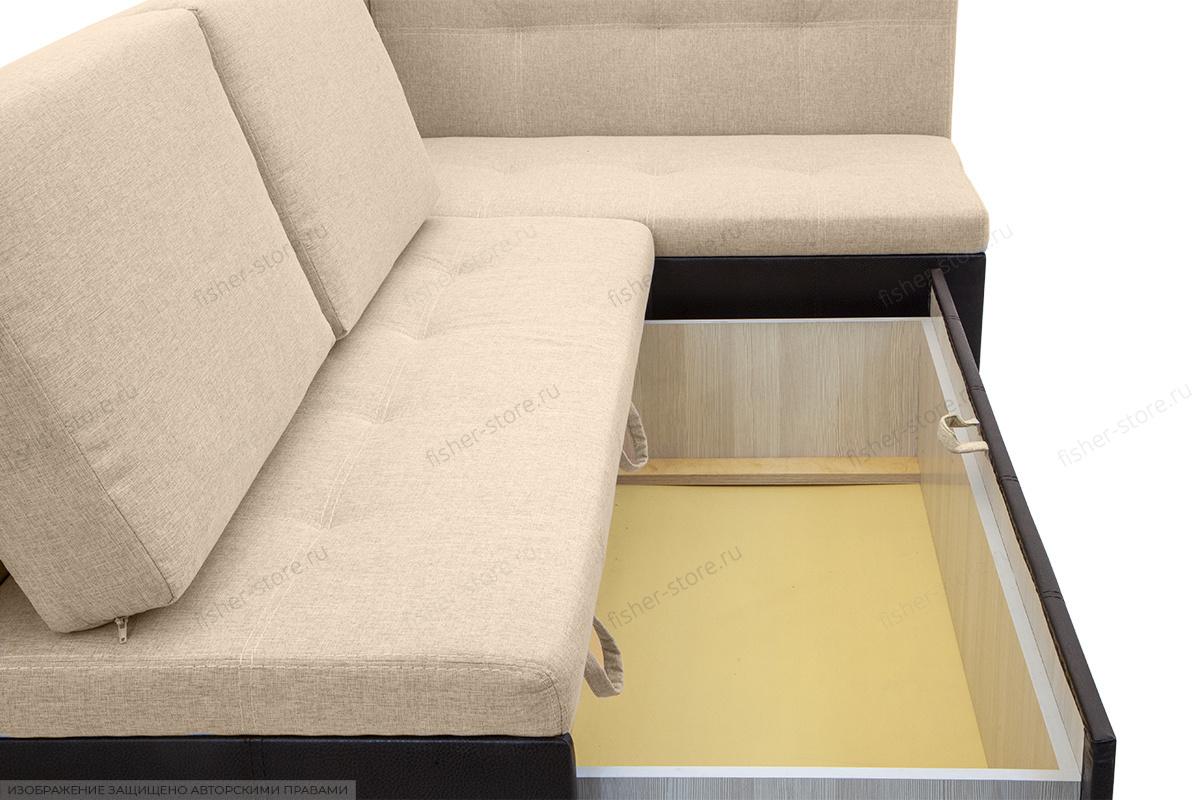 Двуспальный диван Домино Dream Beight + Sontex Umber Ящик для белья