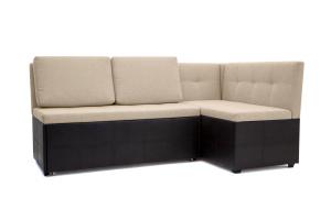 Двуспальный диван Домино Dream Beight + Sontex Umber Вид по диагонали