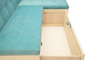 Угловой диван Домино Maserati Light blue + Sontex Beight Ящик для белья