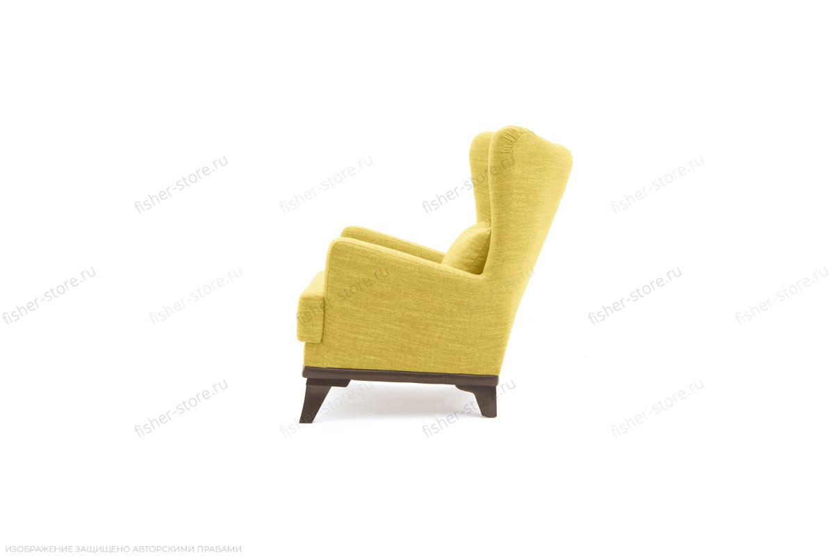 Кресло Адам люкс Orion Mustard Вид сбоку