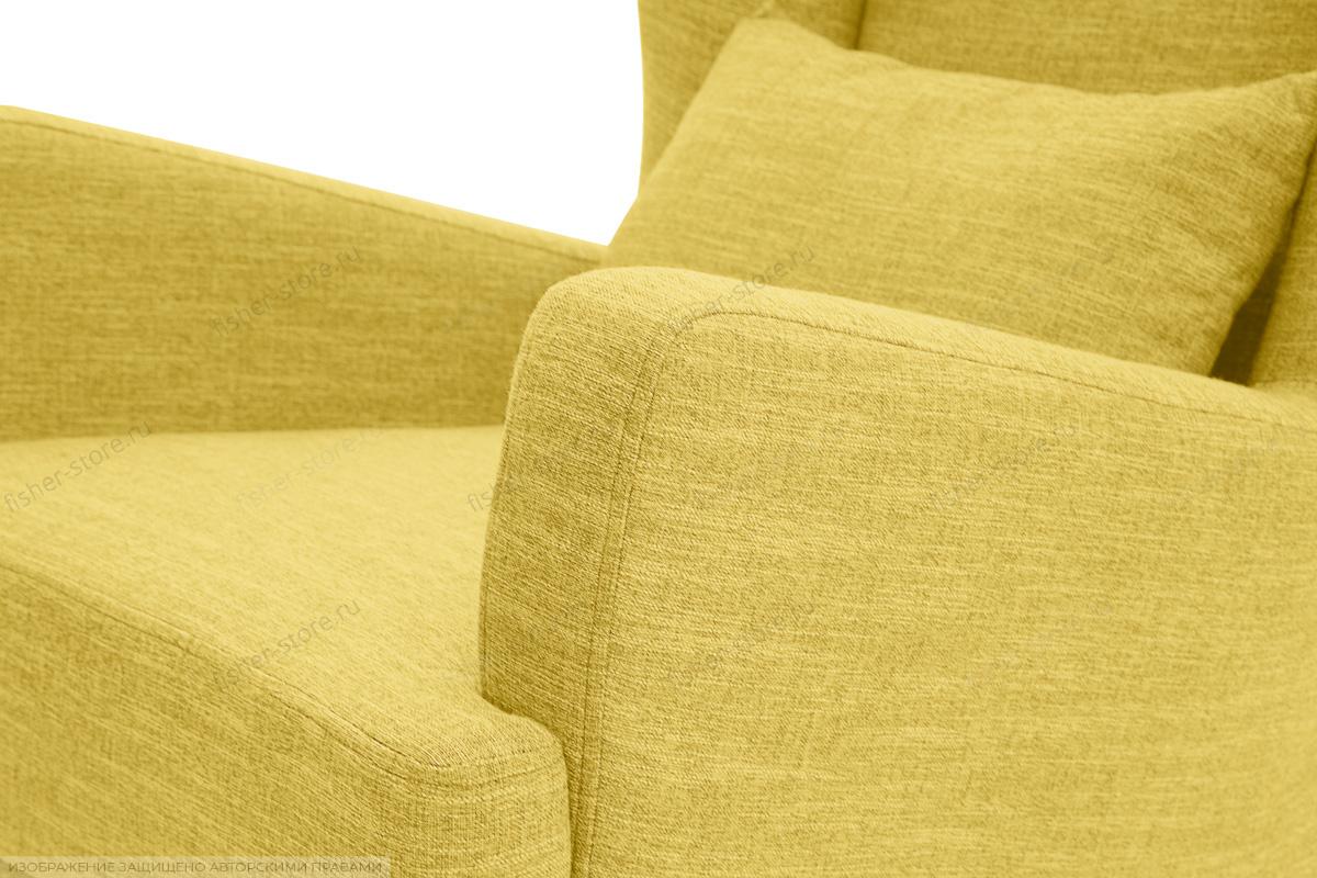 Кресло Адам люкс Orion Mustard Текстура ткани