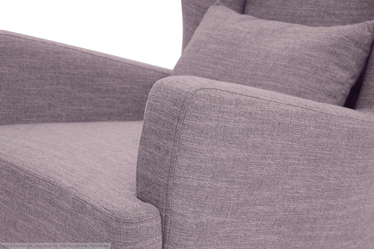 Кресло Адам люкс Orion Lilac Текстура ткани