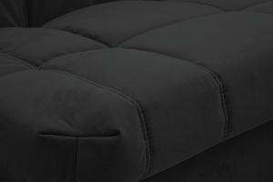 Двуспальный диван Виа Maserati Black Текстура ткани