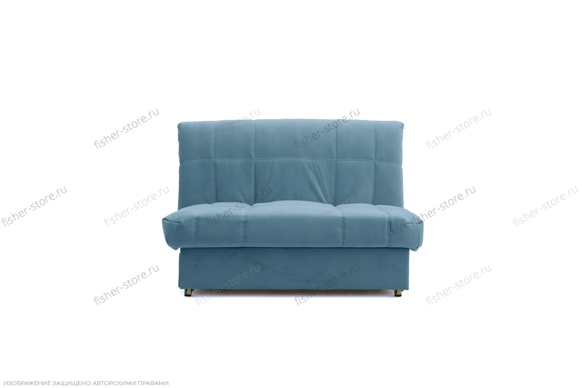 Прямой диван Виа Maserati Blue Вид спереди