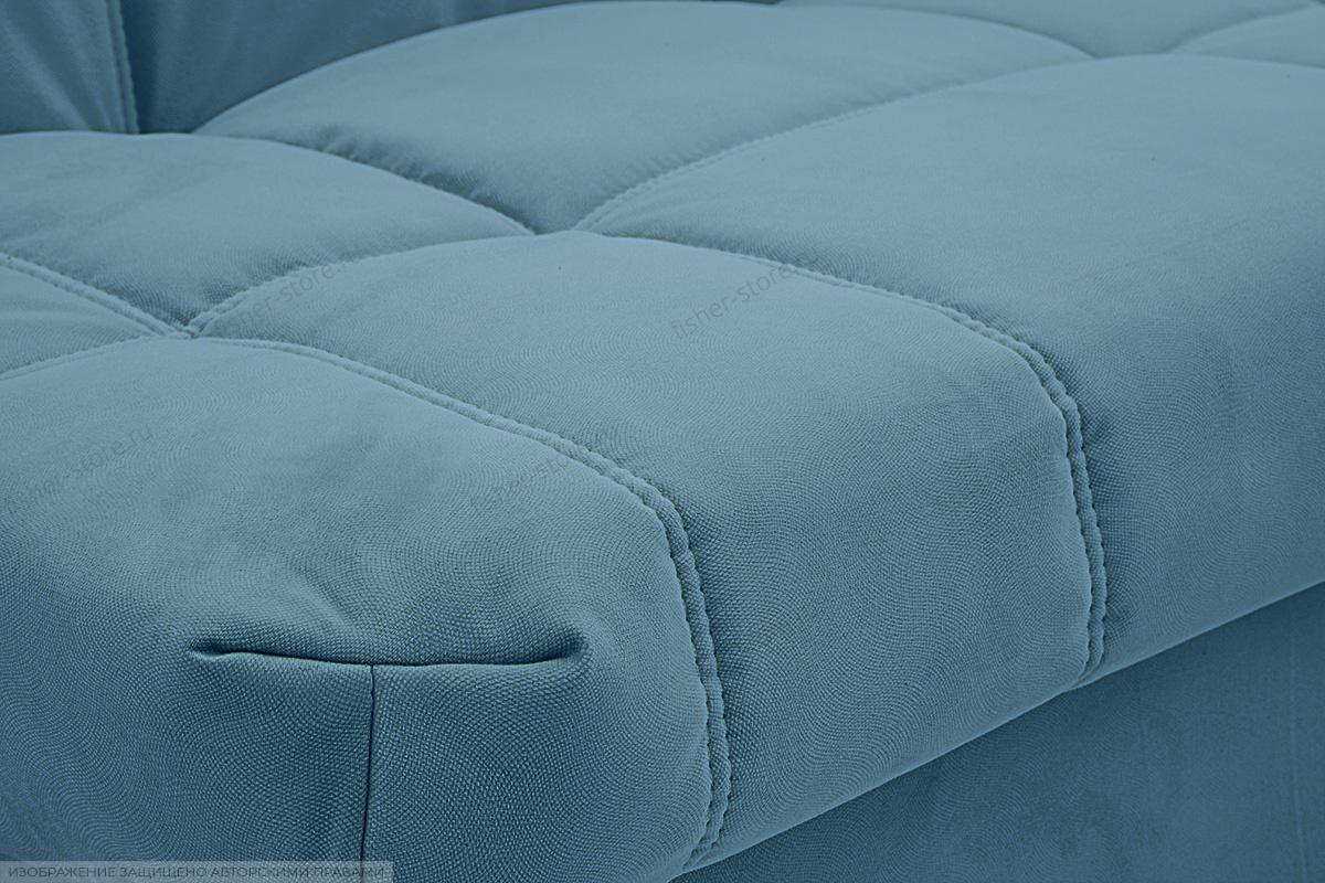 Прямой диван Виа Maserati Blue Текстура ткани