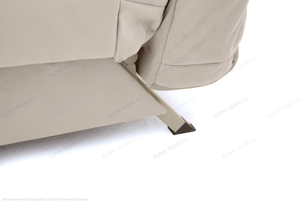 Прямой диван Виа Maserati White Ножки