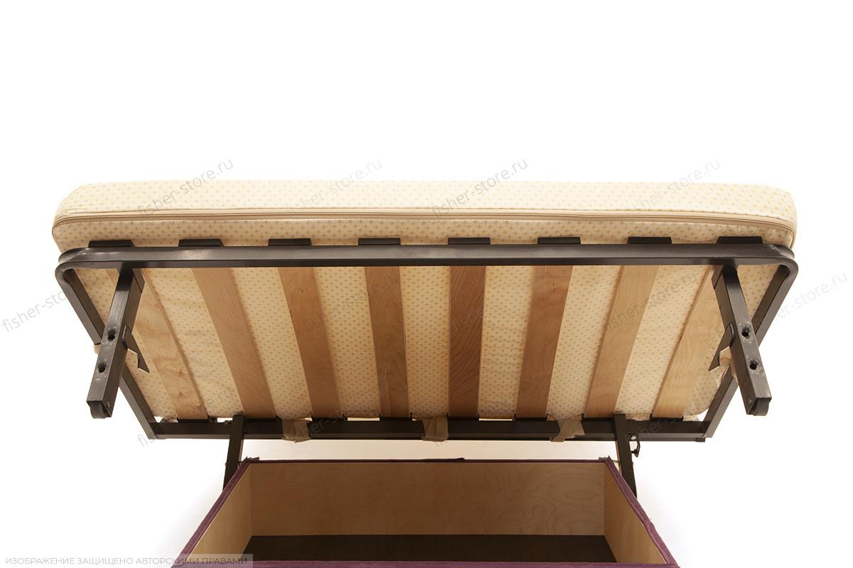 Двуспальный диван Виа Maserati Black Ящик для белья