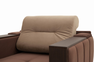 Двуспальный диван Бест Amigo Brown + Amigo Latte Подушки