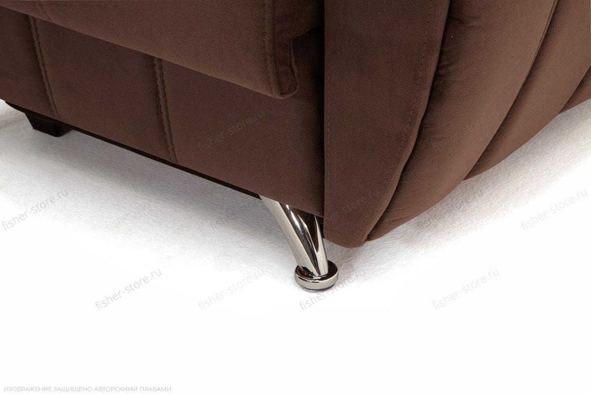 Двуспальный диван Бест Amigo Brown + Amigo Latte Ножки