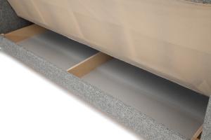 Прямой диван Плаза с опорой №4 Big Grey Ящик для белья