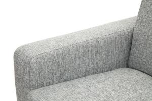 Прямой диван Плаза с опорой №4 Big Grey Подлокотник
