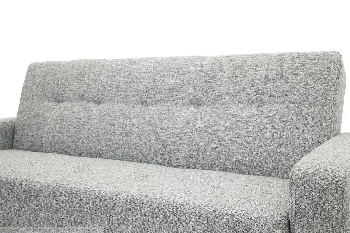 Прямой диван Плаза с опорой №4 Big Grey Текстура ткани
