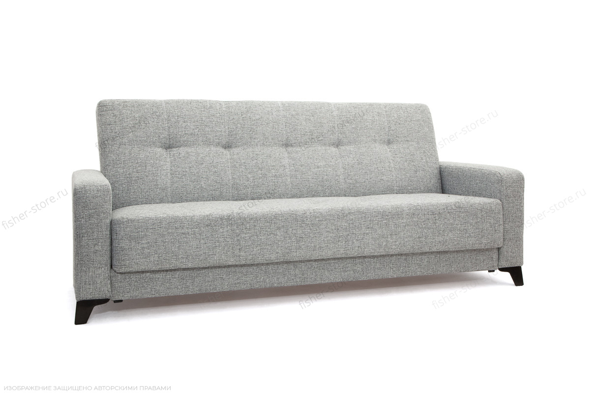 Прямой диван Плаза с опорой №4 Big Grey Вид по диагонали