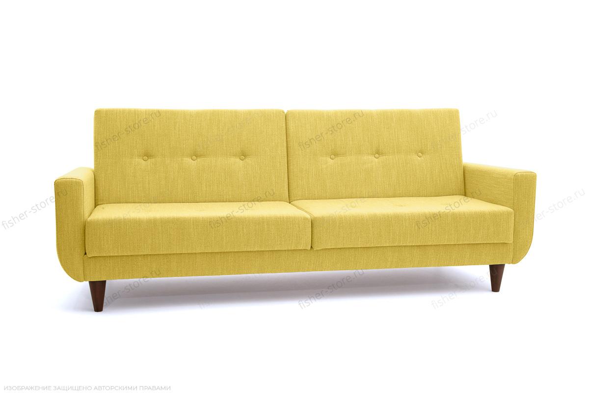Прямой диван Роял Orion Mustard Вид по диагонали