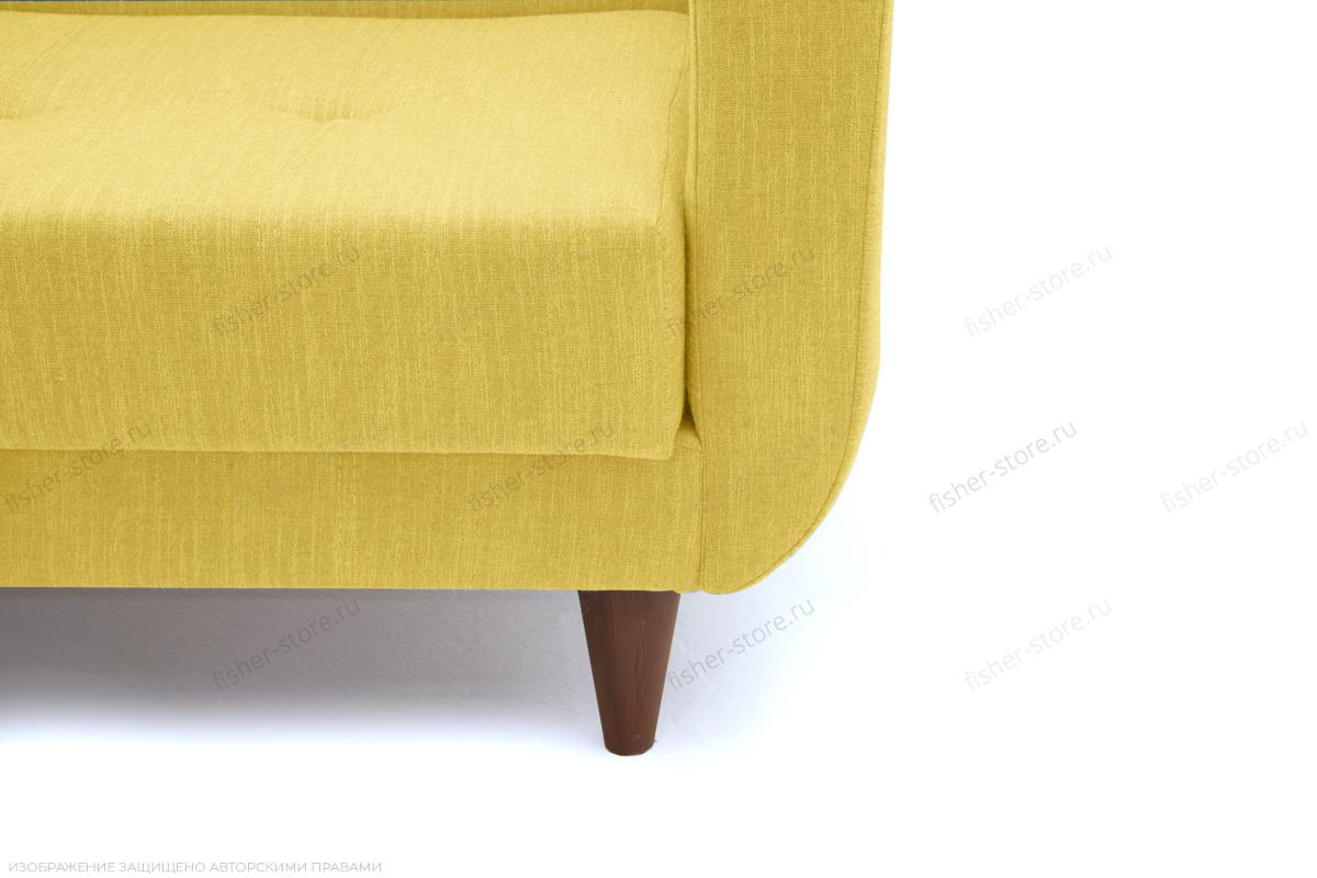 Прямой диван Роял Orion Mustard Ножки