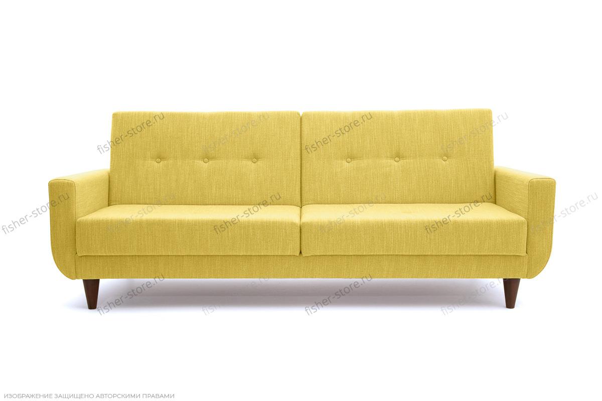 Прямой диван Роял Orion Mustard Вид спереди