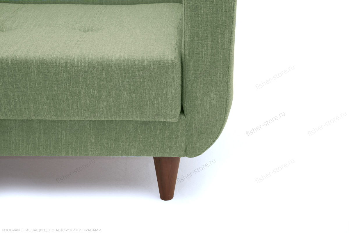 Прямой диван Роял Orion Green Ножки