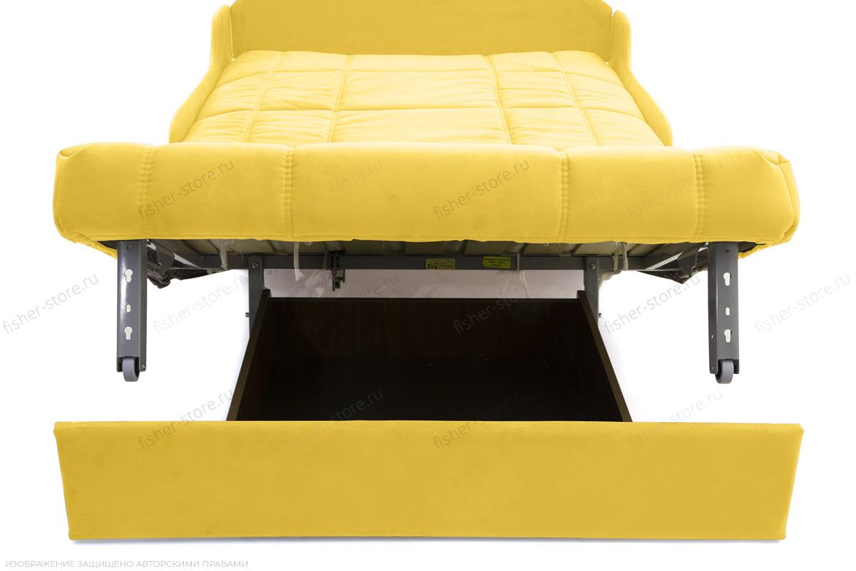 Прямой диван Виа-8 Maserati Yellow Ящик для белья