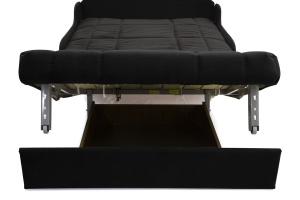 Прямой диван Виа-8 Maserati Black Ящик для белья