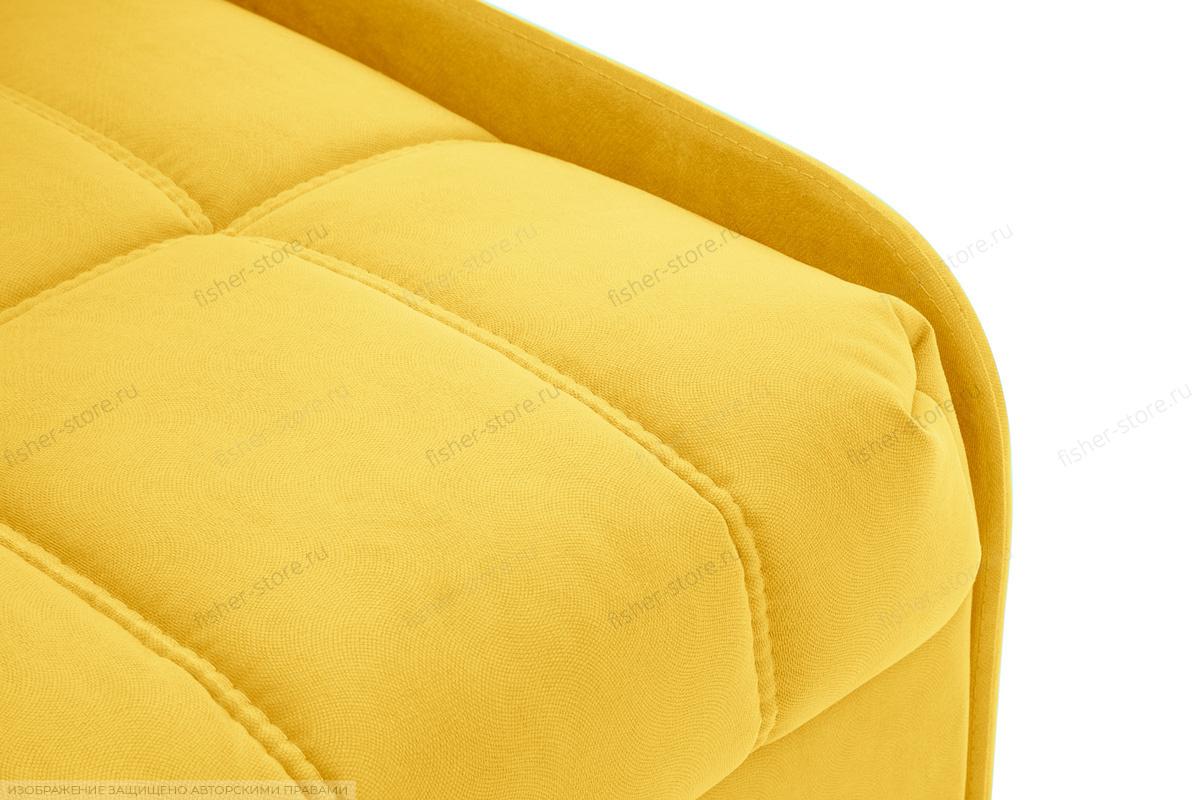 Прямой диван Виа-8 Maserati Yellow Текстура ткани