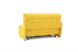 Прямой диван Виа-8 Maserati Yellow Вид сзади