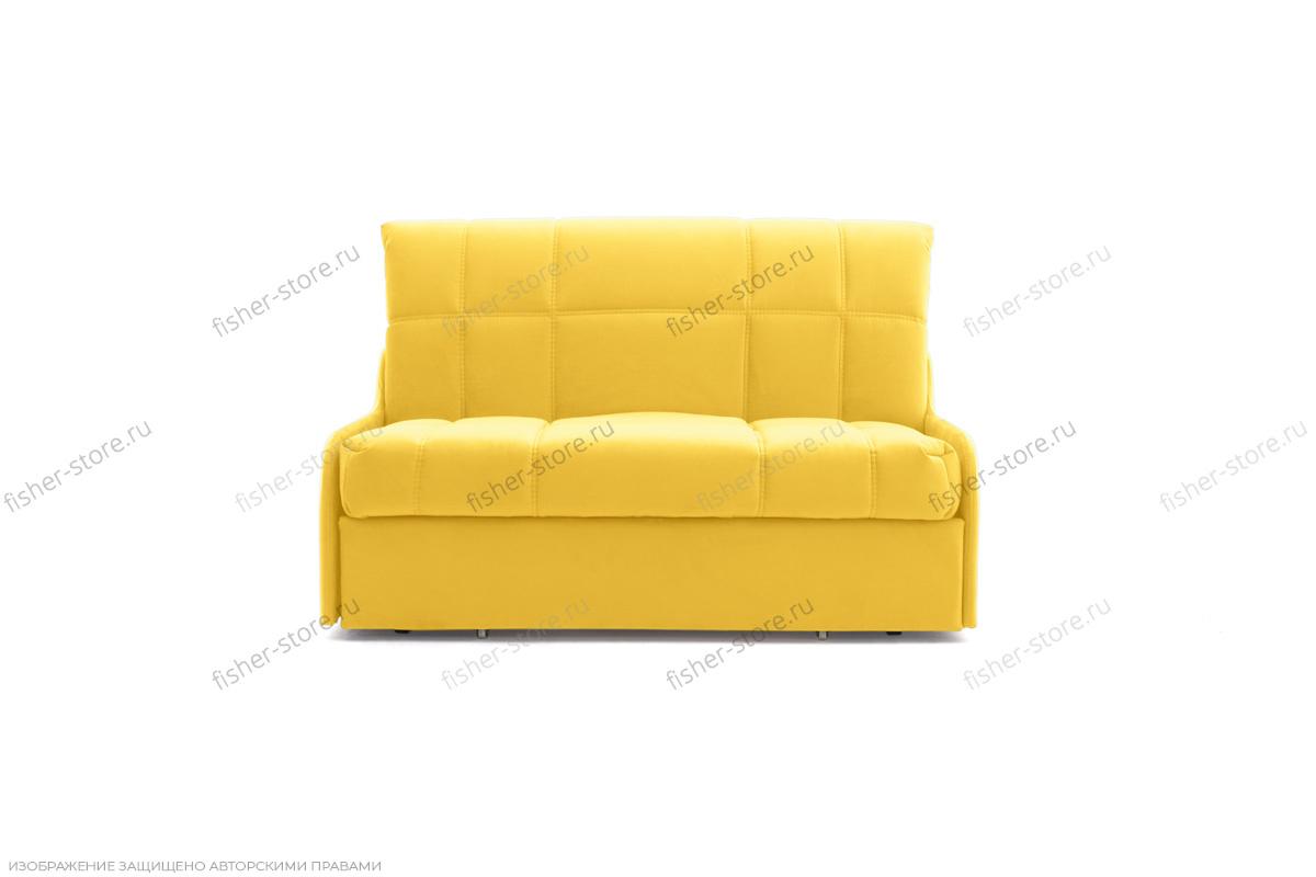 Прямой диван Виа-8 Maserati Yellow Вид спереди