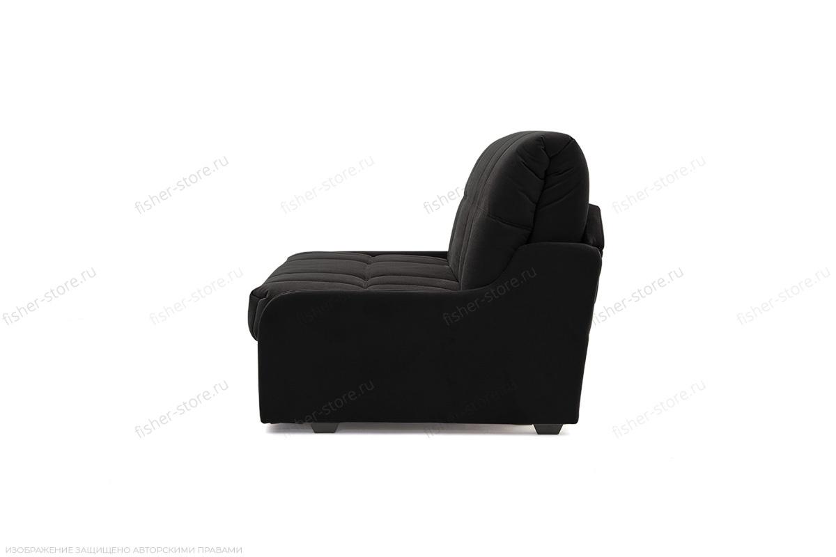 Прямой диван Виа-8 Maserati Black Вид сбоку