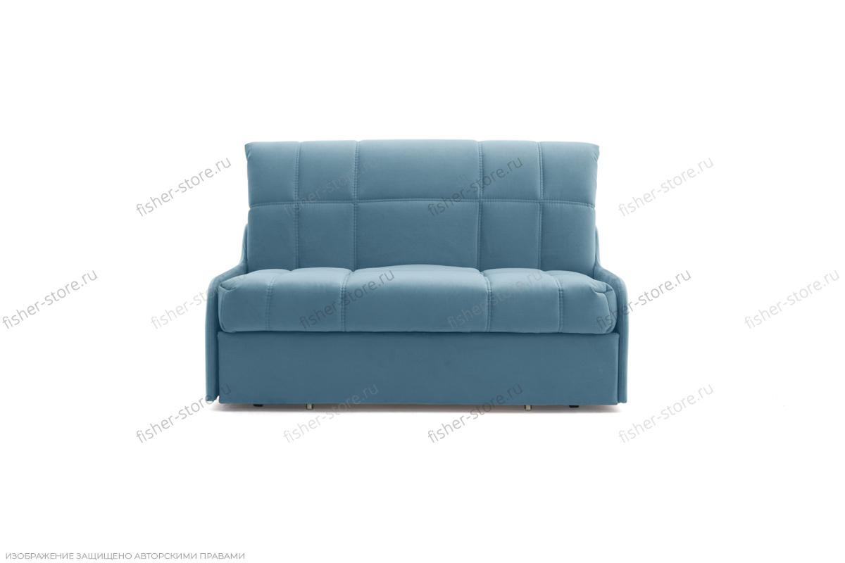 Прямой диван Виа-8 Maserati Blue Вид спереди