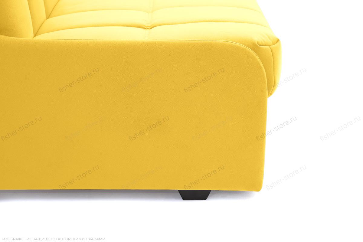 Прямой диван Виа-8 Maserati Yellow Ножки