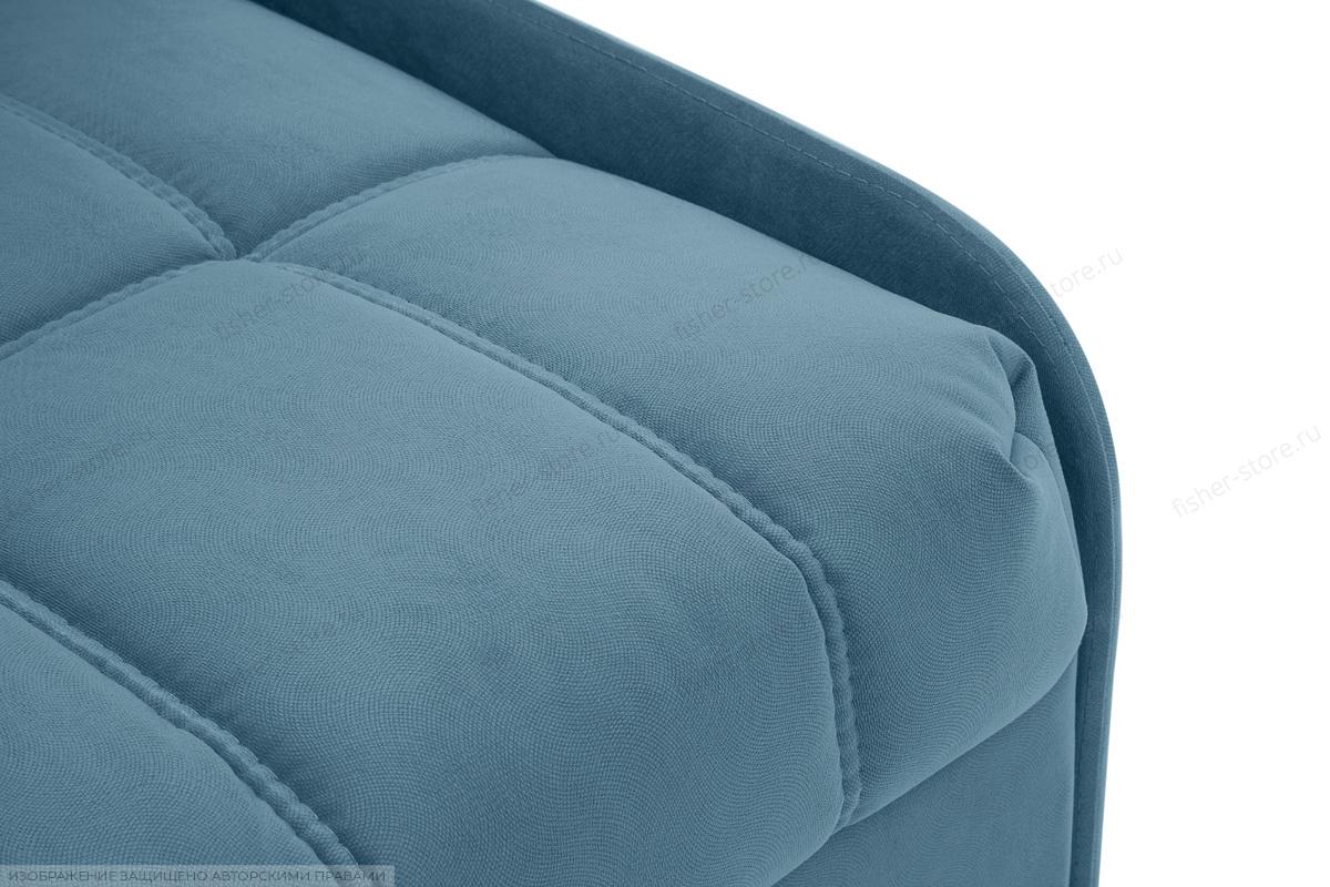 Прямой диван Виа-8 Maserati Blue Текстура ткани