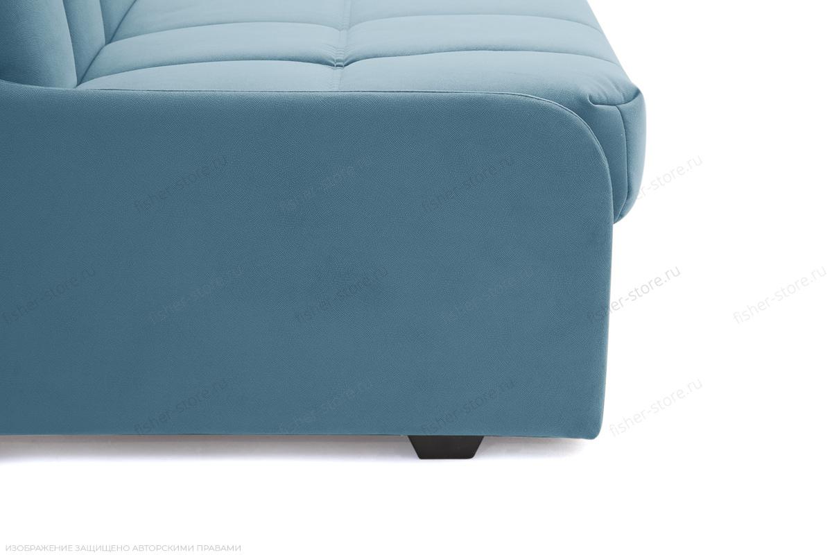 Прямой диван Виа-8 Maserati Blue Ножки