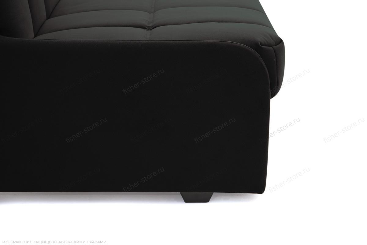 Прямой диван Виа-8 Maserati Black Ножки