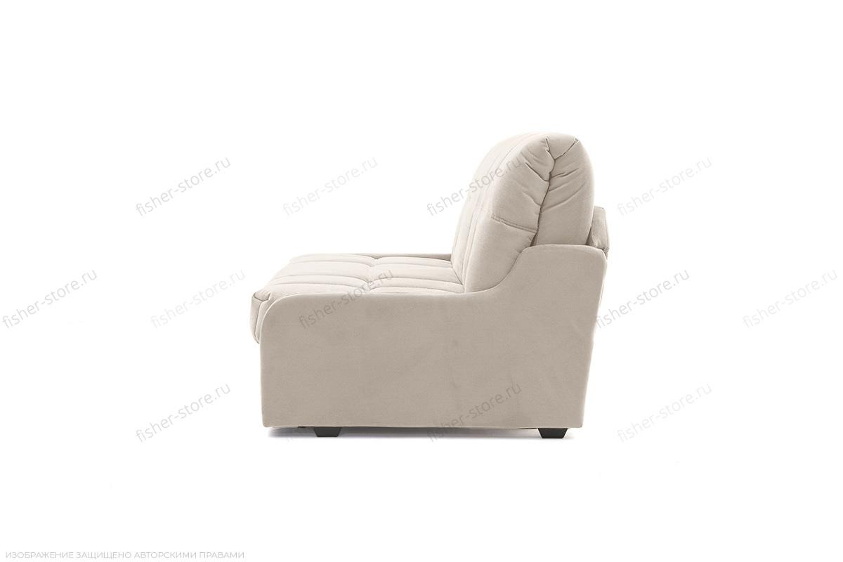 Прямой диван Виа-8 Maserati White Вид сбоку