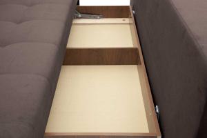 Прямой диван Фокс Amigo Chocolate Ящик для белья