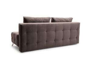 Прямой диван Фокс Amigo Chocolate Вид сзади